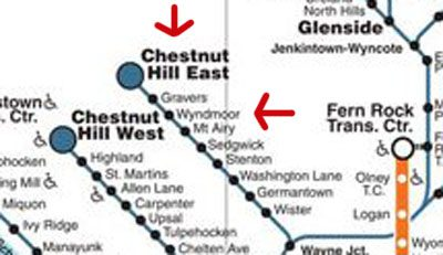 Understanding the SEPTA Regional Rail map